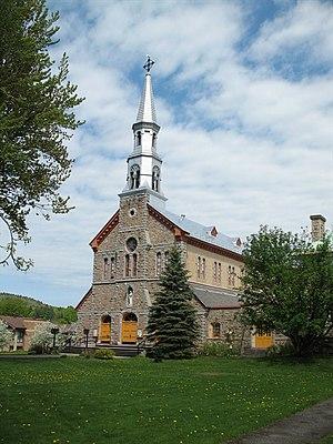 Napoléon Bourassa - Church of Montebello, Montebello, Quebec: Napoléon Bourassa, architect