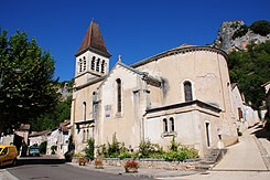 Church of Saint-Gery along the Lot river at 8 September 2015 - panoramio.jpg