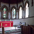 Church of the Holy Innocents, High Beach, Essex, England - chancel sanctuary apse 2.jpg