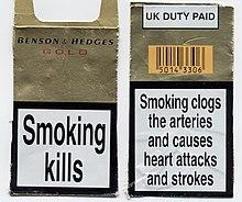 Cigarettes Regal price at Costco Ireland