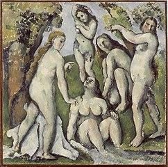 Cinq baigneuses (Five Bathers)
