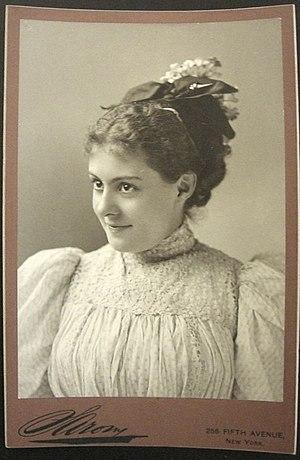 Otto Sarony - Cissy Fitzgerald