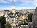 Cité du Sacré-Cœur from the dome of Sacré Coeur, Paris 10 August 2015.jpg