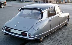 Citroen DS rear 20080126.jpg