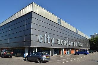 City Academy Bristol - Image: City Academy, Bristol, sports centre