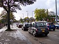 City bound traffic on Edge Lane - geograph.org.uk - 2120738.jpg