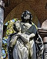 City of London Cemetery Payne Family grave canopied granite monument 02 detail 01.jpg