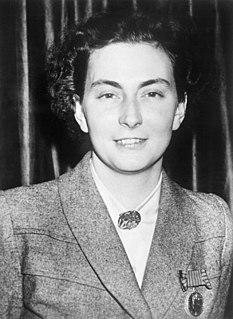 Andrée de Jongh Belgian resistance member