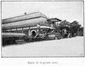 Louis-Jules André - Image: Clément Maurice Paris en plein air, BUC, 1897,126 Entrée de la grande serre