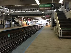 Clark/Lake station - Clark/Lake elevated platforms