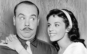 Claudine Longet -  Tim Conway and Longet on TV's McHale's Navy (1963)