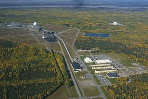 Clear Air Force Station - Image: Clear Air Force Station Alaska