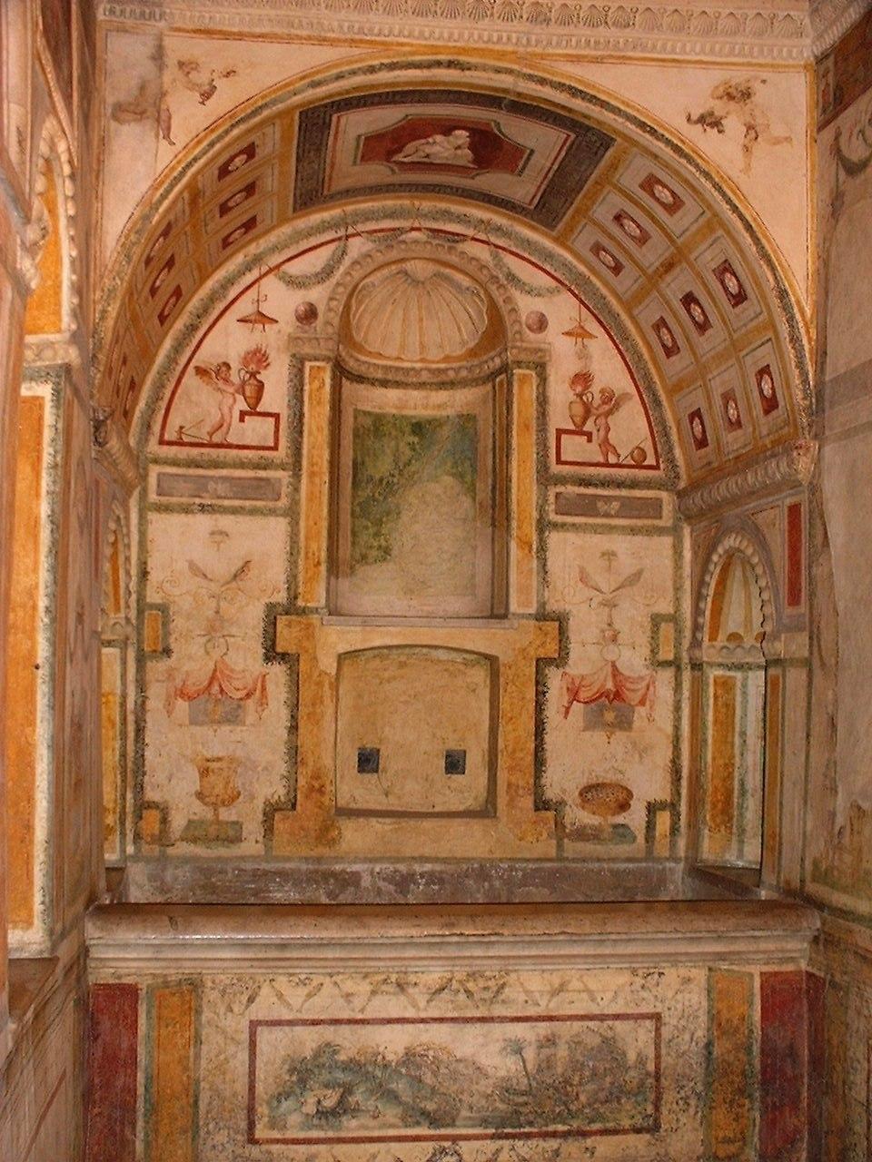 Clement VII bathroom SantAngelo