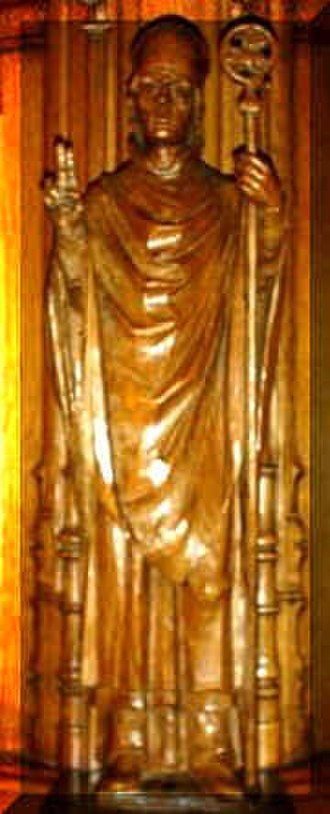 Clement of Dunblane - Figure of Bishop Clement in Dunblane Cathedral