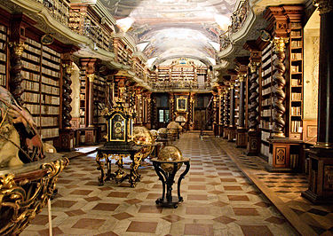 375px-Clementinum_library2 - The World's Most Beautiful Library - Photos Unlimited