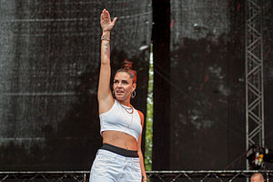 Cleo (Swedish singer) - Cleo in 2014.