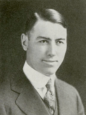 Cleo A. O'Donnell - O'Donnell pictured in Debris 1917, Purdue yearbook