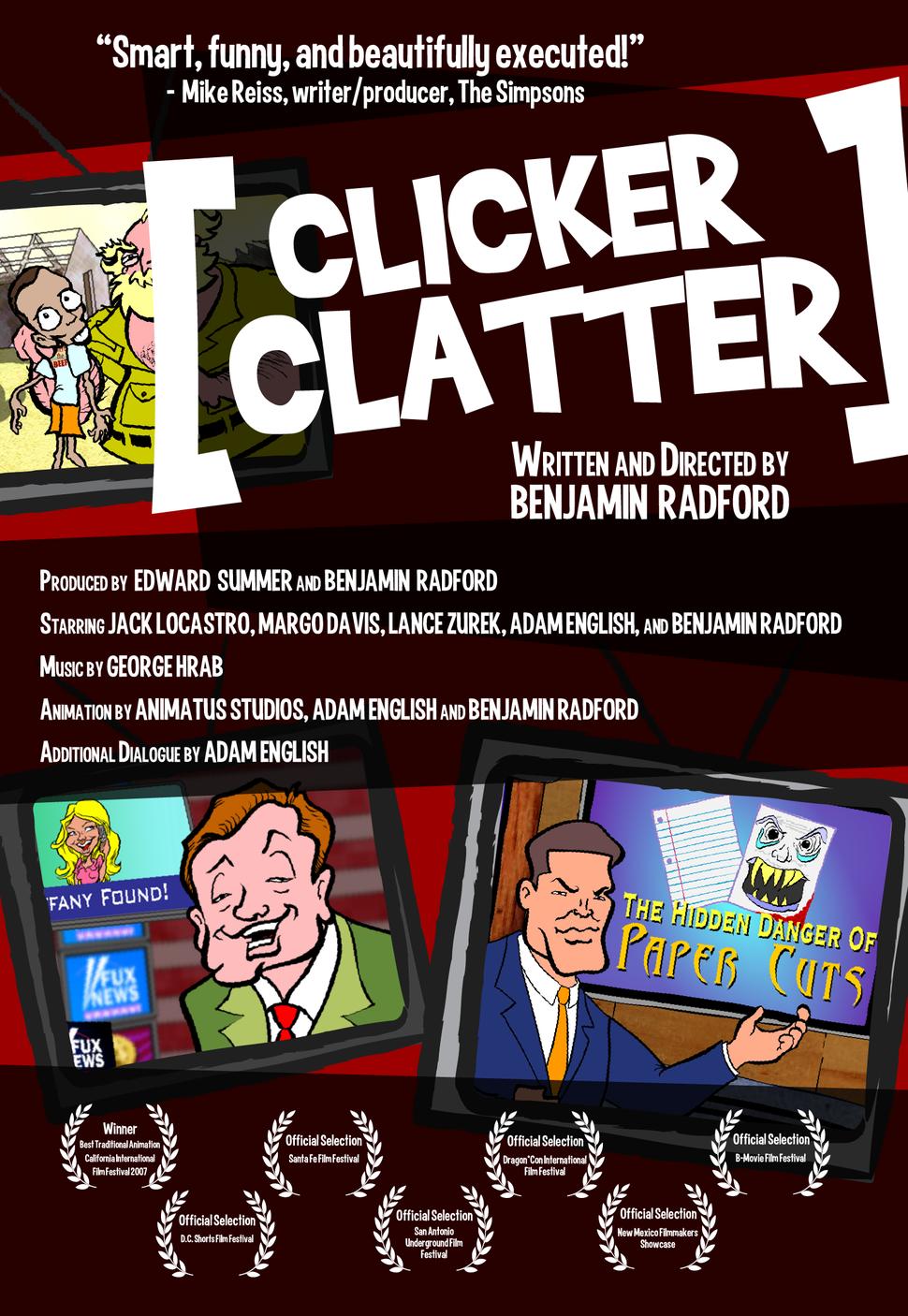 Clicker Clatter poster