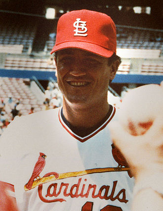 Clint Hurdle - With the Cardinals in 1986