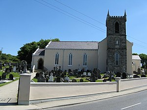 Clonmany - Clonmany Roman Catholic church.