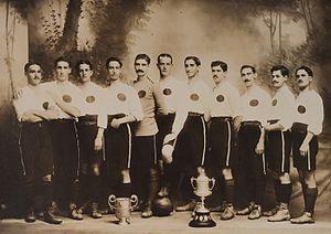 Real Club España - The España team that won the 1915–16 league title.