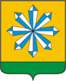 Coat of Arms of Skoropuskovsky (Moscow oblast).png