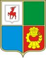 Coat of Arms of Vyksa (Nizhny Novgorod oblast) (1984).png