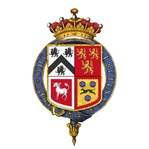 Coat of arms of Daniel Finch, 8th Earl of Winchilsea, KG, PC Coat of arms of Daniel Finch, 8th Earl of Winchilsea, KG, PC.png