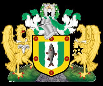 Metropolitan Borough of Rochdale - Image: Coat of arms of Rochdale Metropolitan Borough Council