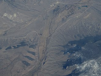 Cochetopa Creek - An aerial view of the creek.