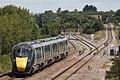Cogload - GWR 800032 Cardiff train.JPG