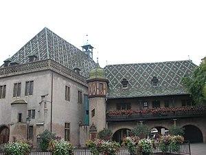 Ancienne Douane (Colmar) - East side of Ancienne Douane in 2011