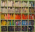Color-coded bookcase (3254322054).jpg