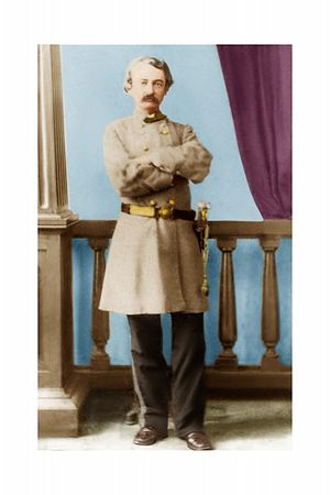 William H.C. Whiting - Digitized and colorized Image of W.H.C. Whiting