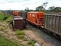 Comboio que saía sentido Boa Vista do pátio da Estação Ferroviária de Itu - Variante Boa Vista-Guaianã km 203 - panoramio (1).jpg