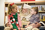 Commando Santa visits the Hurlburt Field library (Image 3 of 4) (8246624685).jpg
