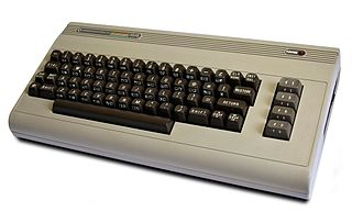 The Commodore 64 home computer
