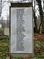 Common grave of the Jews massacred in the hospital on Maros Street (back side) (Óbuda Jewish Cemetery).jpg