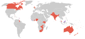 1958 British Empire and Commonwealth Games - Countries that participated