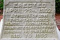 Confederate Memorial inscription, Brunswick, GA, US.jpg