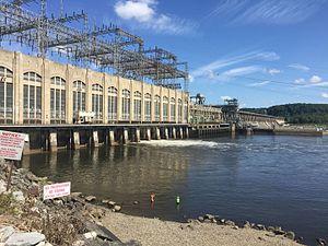Conowingo Dam - Conowingo Dam, looking North