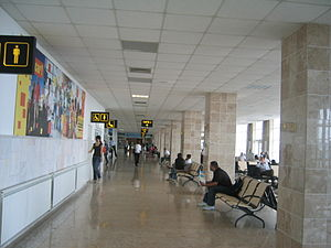 Mihail Kogălniceanu International Airport - Departures terminal