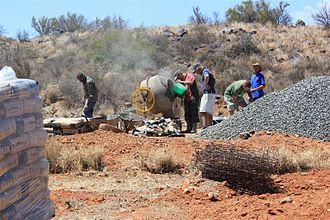 Orania, Northern Cape - Construction work in Orania
