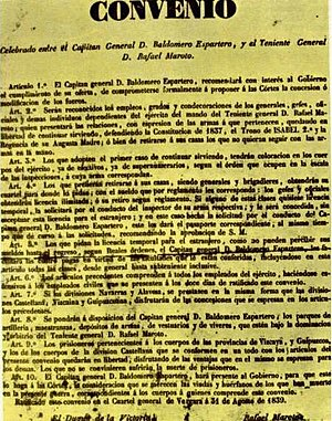 Convention of Vergara - Text of the Vergara Agreement (1839)