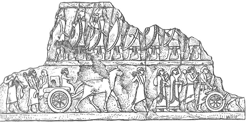 Convoy of prisoners