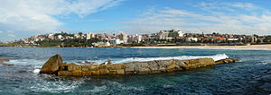 Coogee, New South Wales - View from the baths