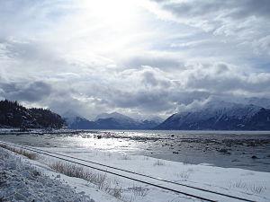 Cook Inlet, Turnagain Arm, Kenai Mountains, Alaska
