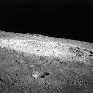 Copernicus (lunar crater) - Copernicus from Apollo 12. NASA photo.