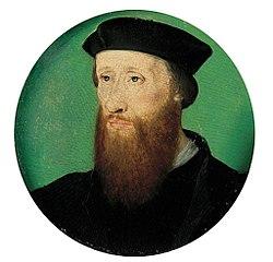 Portrait dit de Jean Calvin