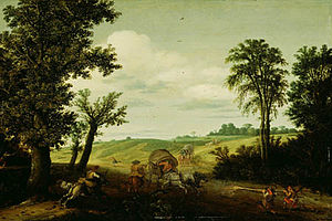 Cornelis Vroom - Cornelis Vroom, The Highway Robbery, Detroit Institute of Arts, United States, 1625